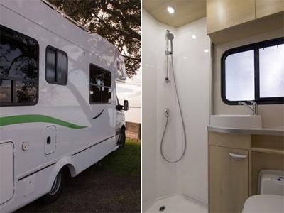 Kea Luxury Motorhome 4 Berth Shower