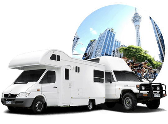 campervan hire in Auckland, NZ