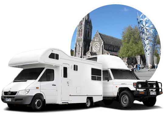 campervan hire in Christchurch, New Zealand