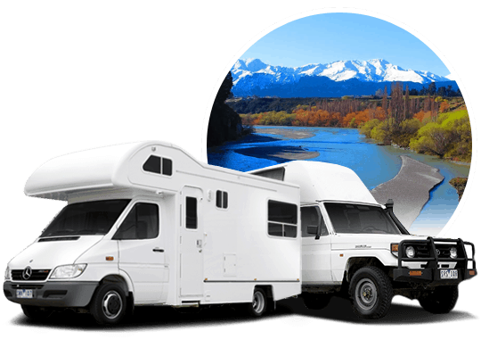 campervan hire in Queenstown, New Zealand