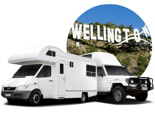 campervan hire in Wellington, New Zealand