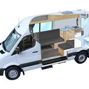 RRR Sprinter Campervan 2 Berth