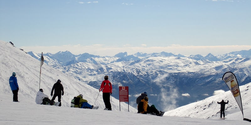 Skiing In The Remarkables